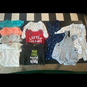 Baby boys/girls nautical clothing bundle